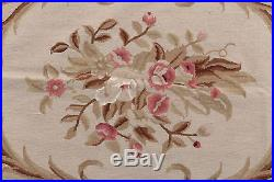 Needle point Classic Floral French Style 185x123 CM Drawing Aubusson Galleria F